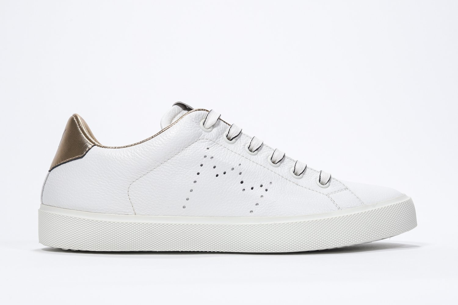 Leather Crown Sneakers in pelle  Iconic gold  LC 06 LEATHER CROWN | 12 | LC06201111