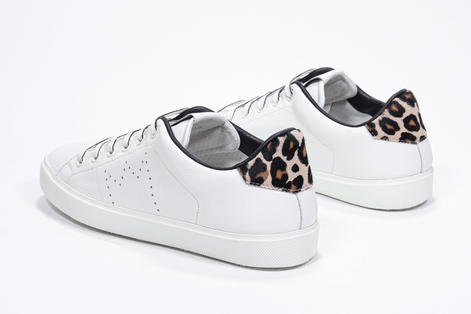 Leather Crown Sneakers in pelle  Iconic pony LC 06 LEATHER CROWN | 12 | LC06201131