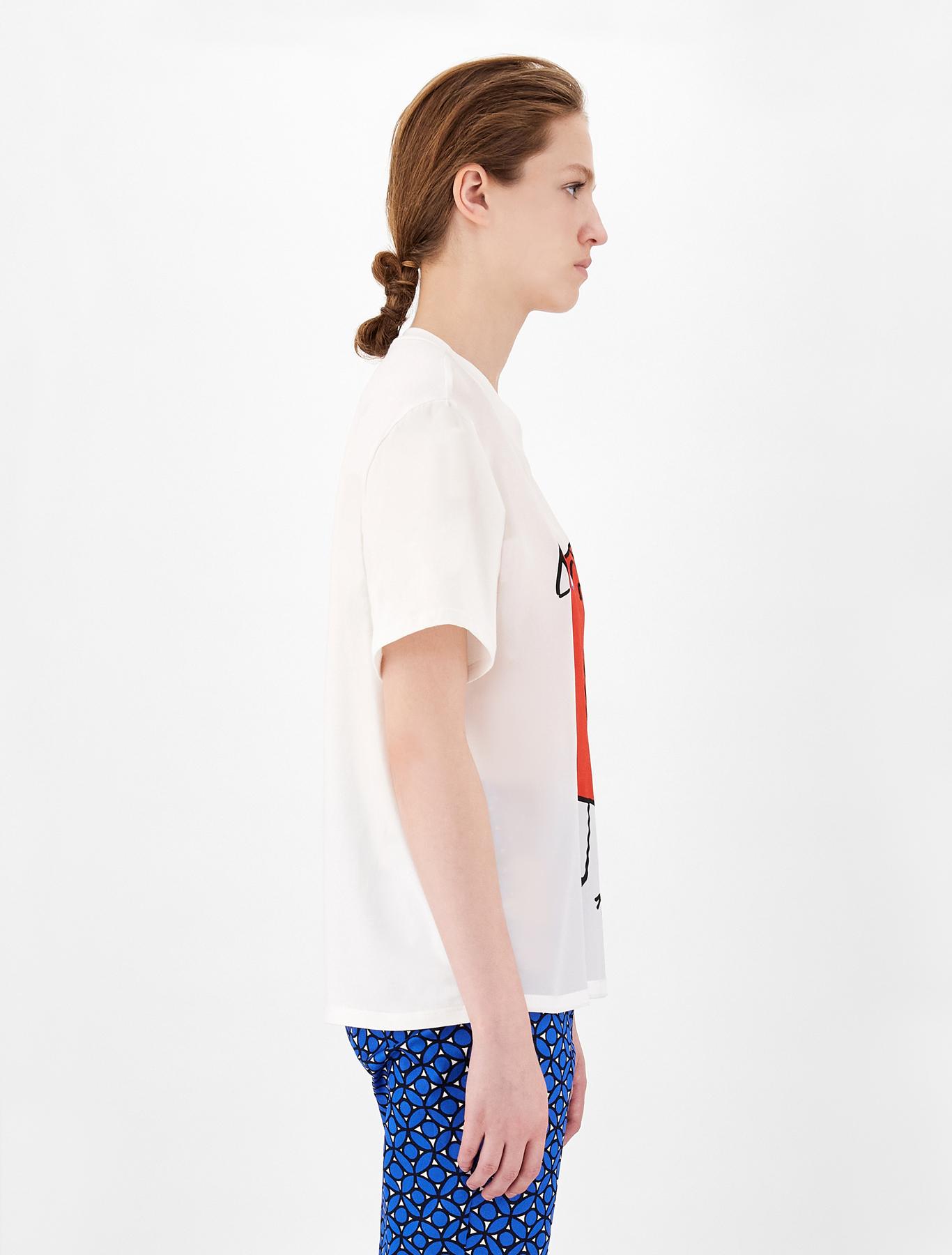 Weekend Max Mara  t-shirt in  crepe de chine di seta MAX MARA WEEKEND | 8 | 59410911600005