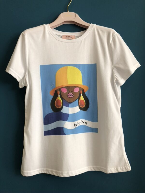 Moina T-shirt profumata Afro1. MOINA | 8 | 70819/A31