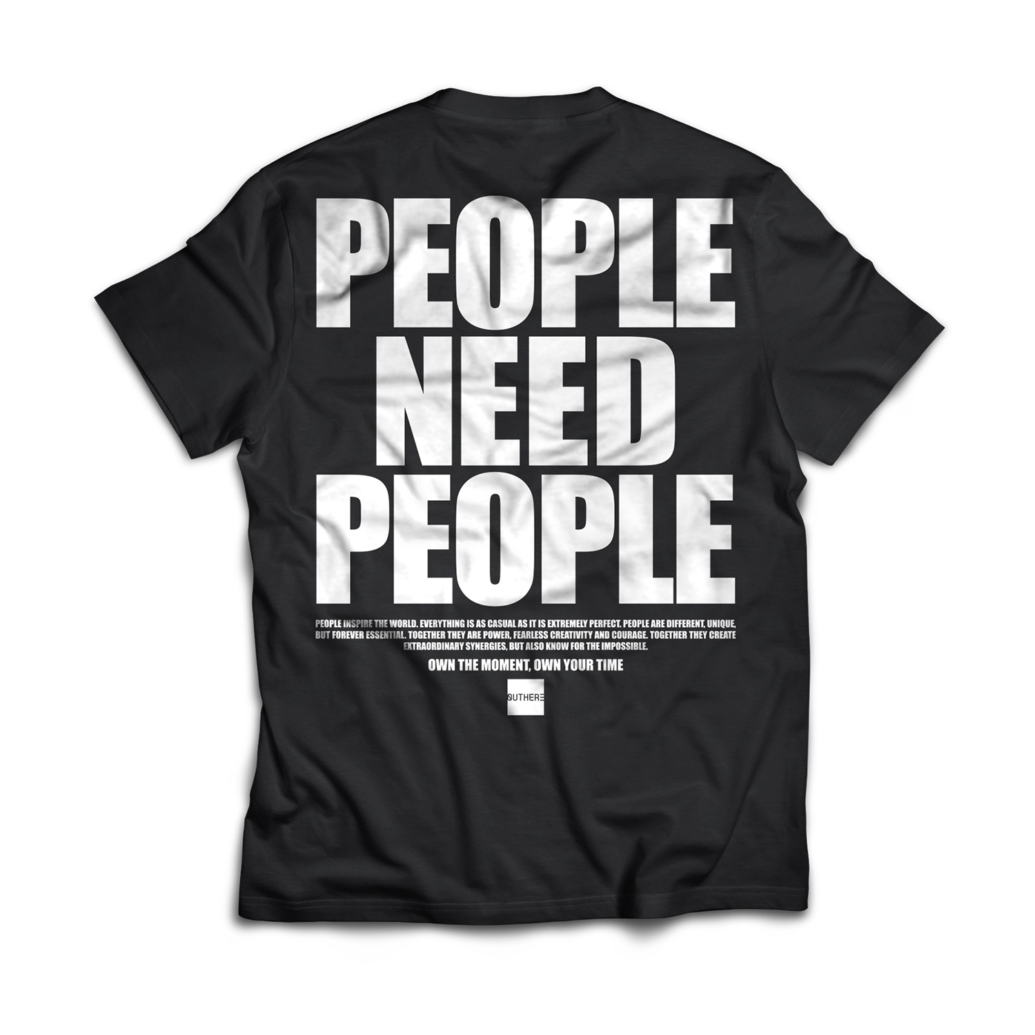 Outhere T-shirt mezza manica stampata People Need People Outhere | 8 | 1076411