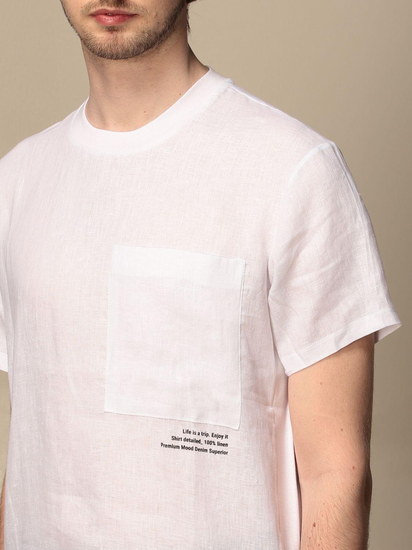 PMDS T-shirt Howi  in Lino con taschino PMDS | 8 | HOWI01