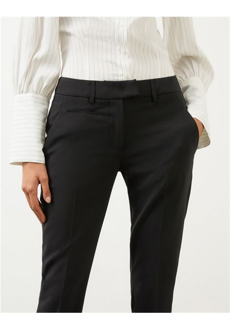Pantalone slim perfect in tela di lana nero DONDUP | 9 | DP066TS0009D999