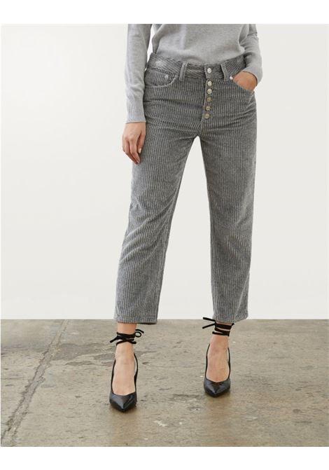 Pantalone loose Koons in velluto lurex DONDUP | 9 | DP268BVF0021D922
