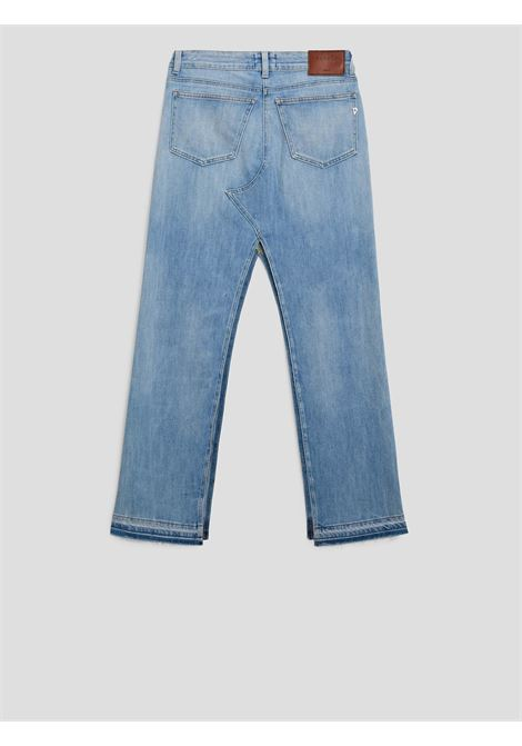 Dondup Gonna Lunga Denim chiaro con spacchi DONDUP | 15 | G483DS0107DBE8
