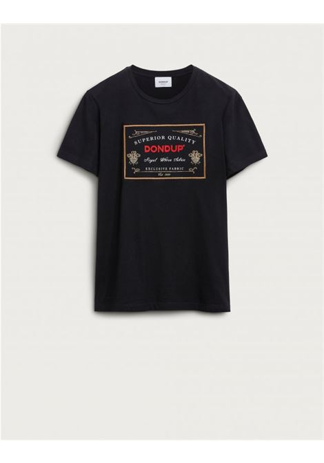 T-shirt regular con stampa logo in jersey DONDUP | 8 | US198JF0271UZJ7999