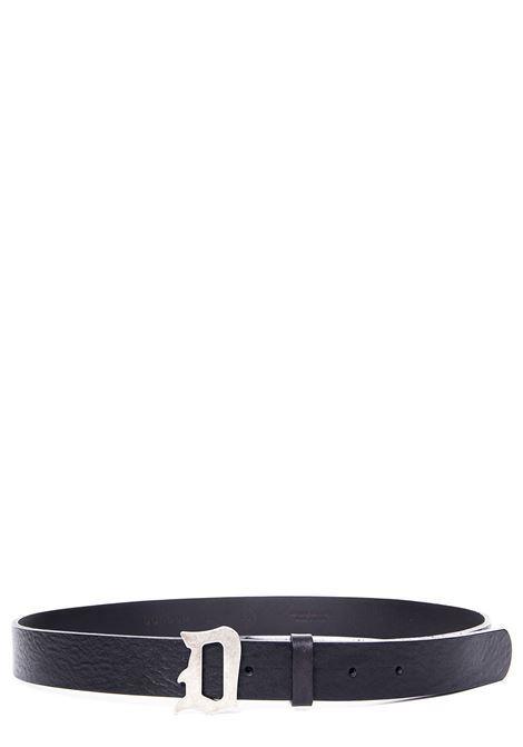Cintura D Logo in cuoio DONDUP | 22 | XC116PL0250U999