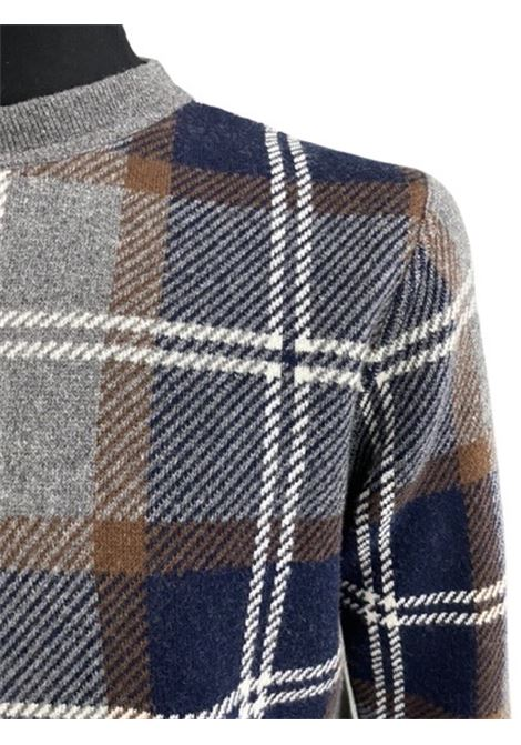 Altea maglieria girocollo maxy check scozzese Altea | 5032251 | 206116721/R