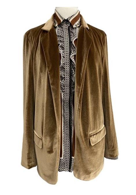 Altea giacca jilly jersey velour tinta  unita Altea | 3 | 206250734/R