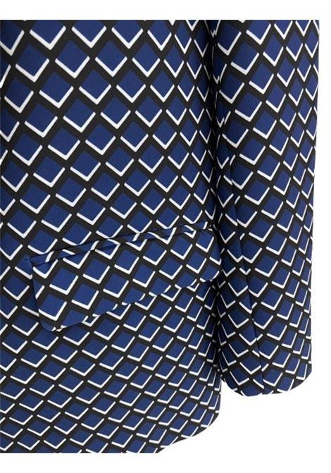 Altea giacca jilly stampa disegno geometrico blu nero Altea | 3 | 206250901/R