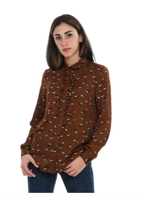 Altea Camicia con rouches Stampa Allover Altea | 6 | 206462535/R