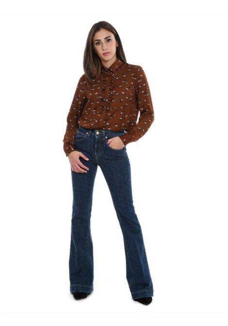 Altea Camicia con rouches Stampa Allover Altea | 6 | 206462535/R