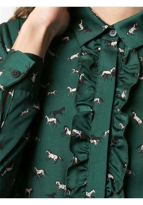 Altea Camicia con rouches Stampa Allover Altea | 6 | 206462543/R