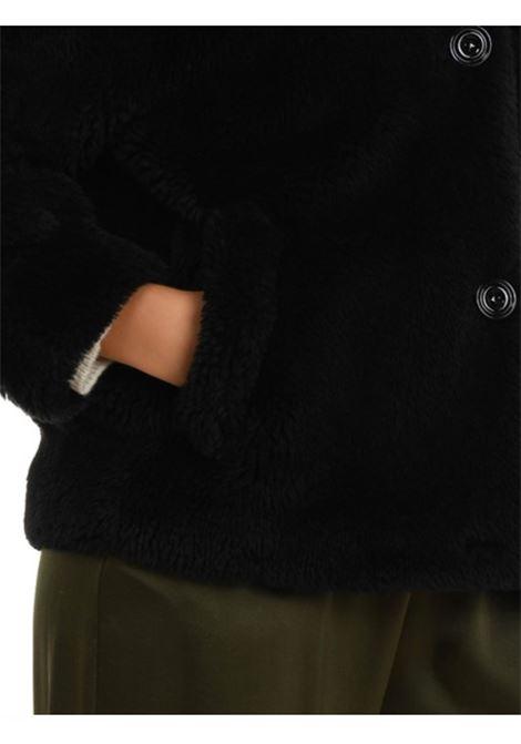 Altea Giaccone corto in shearling con tasche laterali Altea | 18 | 206750090/R