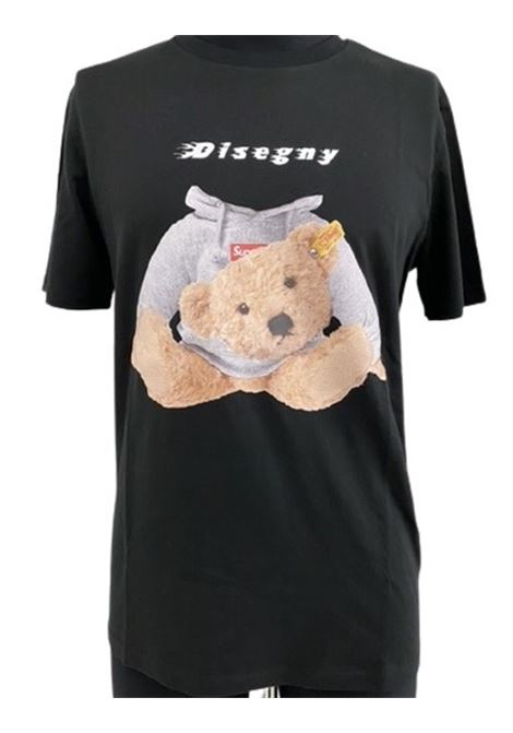 Disegny Shirt  in cotone stampa bear DISEGNY | 8 | IC23 SHIRT1