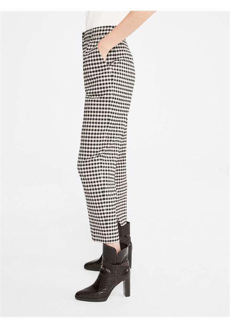 Max Mara Studio pantaloni Modello Bruna  in batavia di mista lana check MAX MARA Studio | 9 | 613606003001
