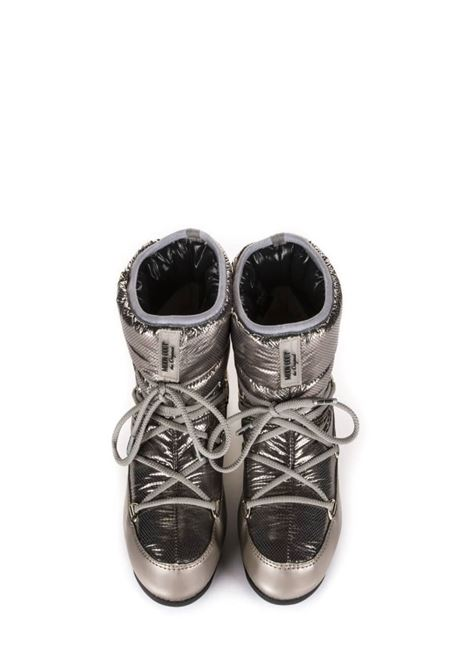 Moon Boot Low Saint Moritz WP Platino Donna MOON BOOT | 12 | 24009001