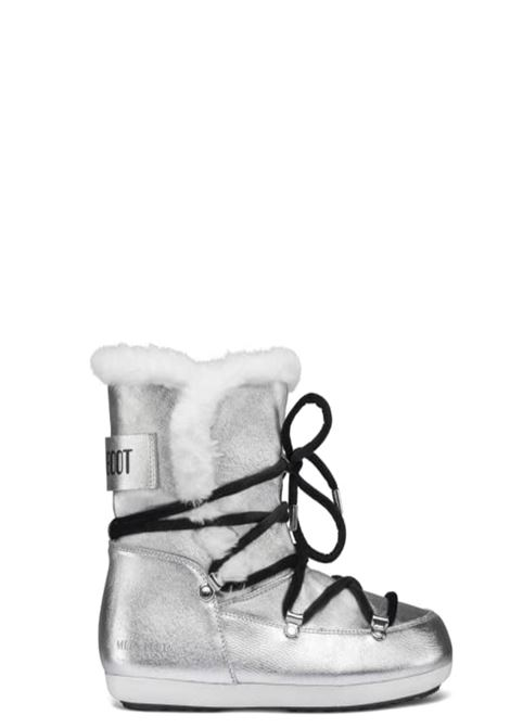 Moon Boot Dark Side High Saffiano Argento Urban MOON BOOT | 12 | 243003001