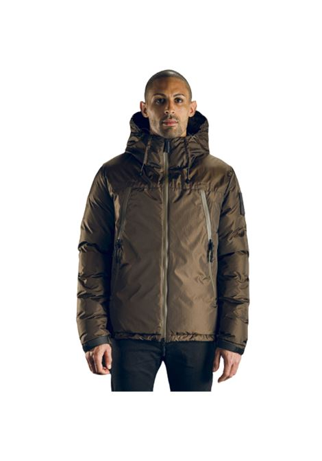 Outhere Giubbotto Ripstop deep brown con Cappuccio Outhere | -276790253 | 02M501100028