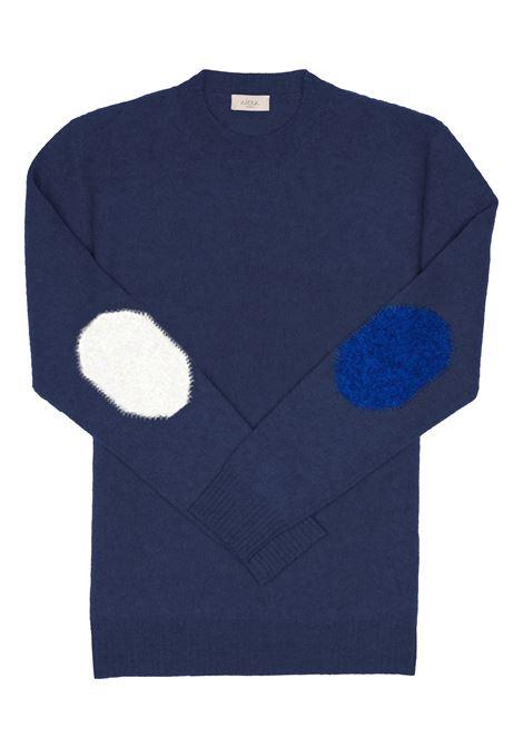 maglia girocollo toppe 2 colori Altea | 7 | 216120308/R