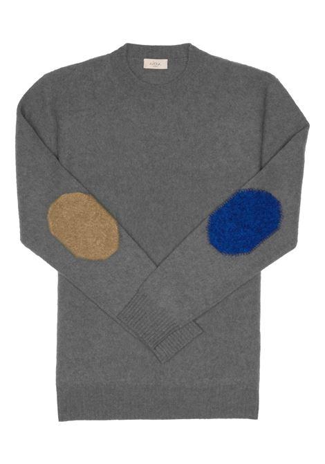 maglia girocollo toppe 2 colori Altea | 7 | 216120322/R