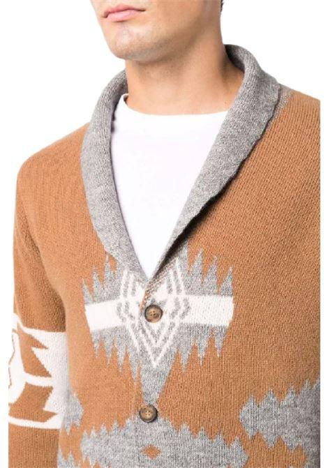 giacca cardigan jacquard azteco Altea | 39 | 216126434/R