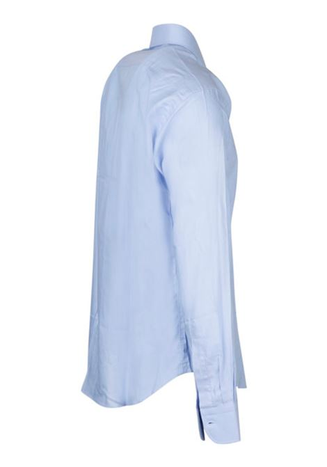 camicia unita basic in cotone elasticizzato BRIAN DALES | 6 | BS50WSPST8416002