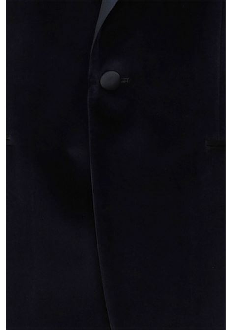 giacca smoking velluto blu BRIAN DALES | 3 | G233RJK4669003