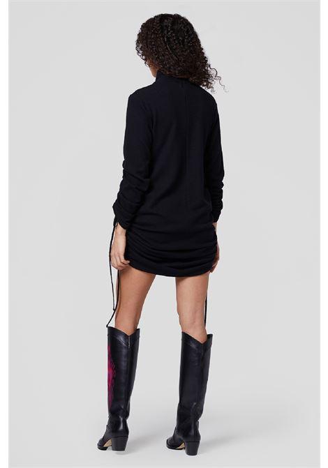 abito dolcevita in pura lana con arricci DONDUP | 11 | DA227M00807D002999