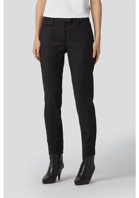 pantalone Slim Fit Perfect in flanella di viscosa DONDUP | 9 | DP066OS0105D999