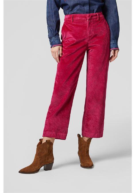 Pantalone cropped loose Meli in velluto DONDUP | 9 | DP575VS0024D575