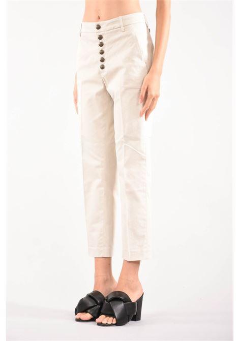 pantalone loose Nima con bottoni gioiello DONDUP | 9 | DP576RS0041D010