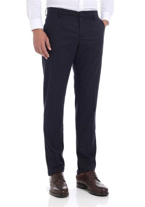 pantalone slim aubert gabardina di cotone e cachemire DONDUP | 9 | UP235GS0053UBV4890