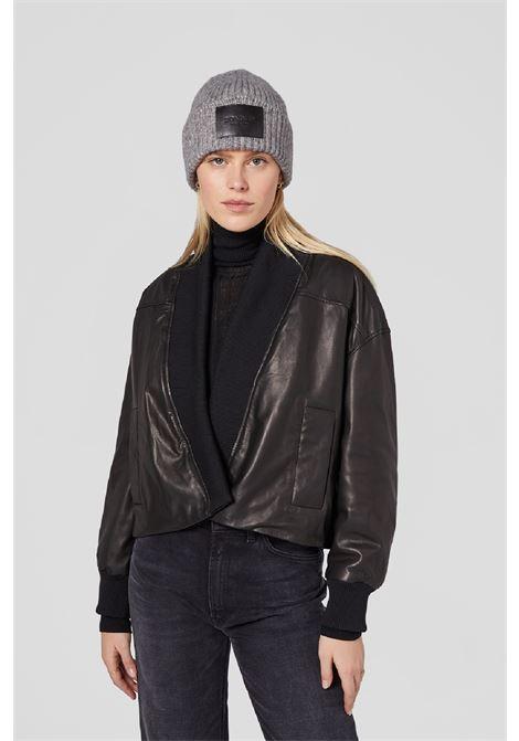 cappello con etichetta pelle DONDUP | 26 | UQ090Y00481U902
