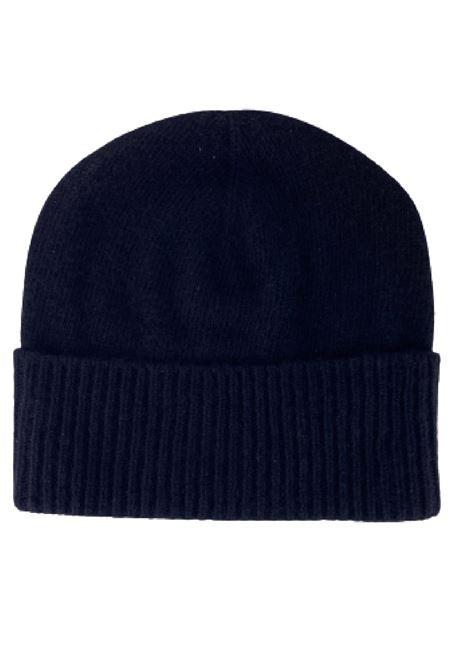 cappello in cachemire con etichetta logo DONDUP | 26 | UQ100Y00480U999