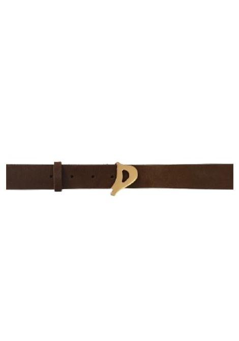 cintura  D Logo in suede DONDUP | 22 | WC221PL0272D719