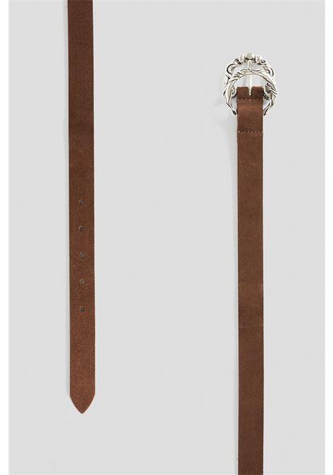 cintura in suede  h 2,5 cm DONDUP | 22 | WC253PL0272D719