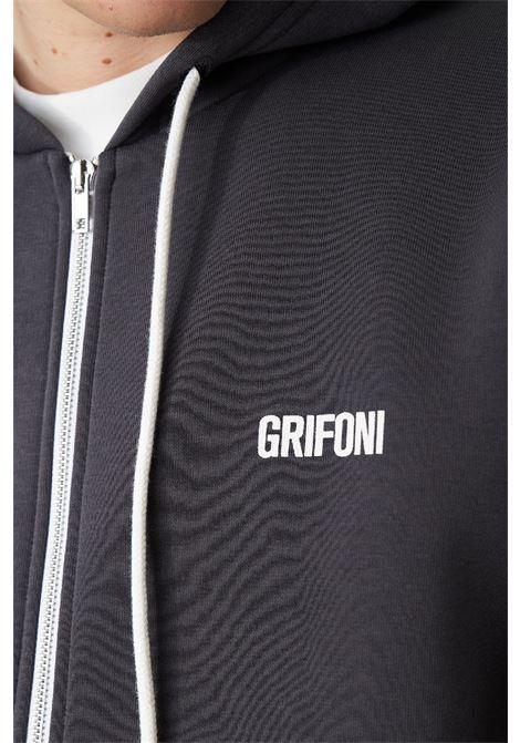 felpa cappuccio zip Grifoni | -108764232 | GL180033/57009