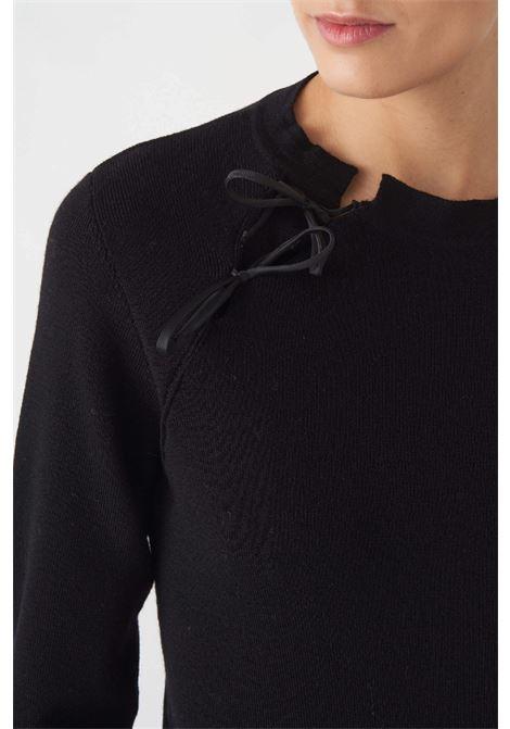 maglia c/apertura in lana vergine Grifoni | 5032251 | GL210041/68003