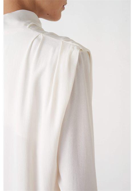blusa con pinces sulle spalle Grifoni | 6 | GL220062/7045