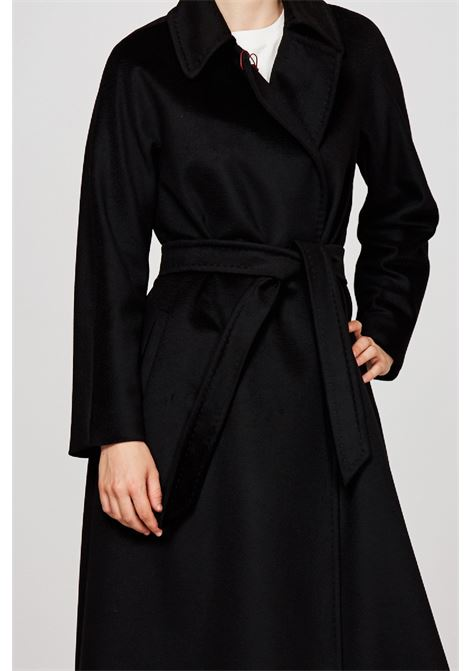 cappotto lungo con cintura in pura lana 3abelia MAX MARA Studio | 17 | 60163713600013