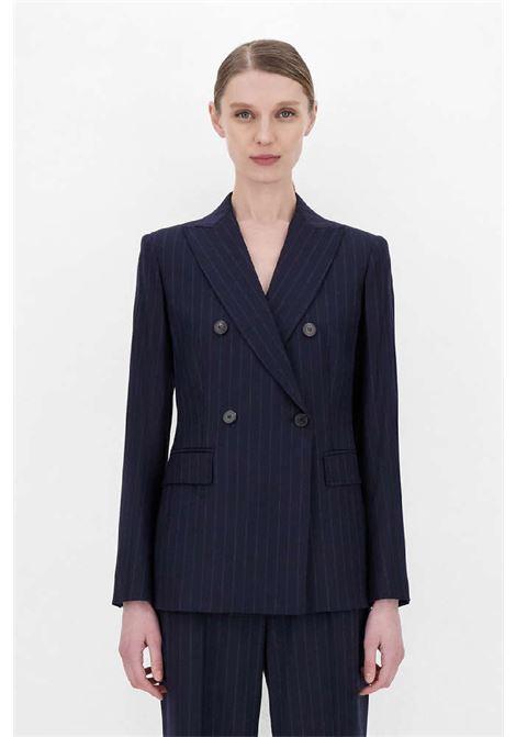 giacca gessata in flanella di lana MAX MARA Studio | 3 | 60460213600009
