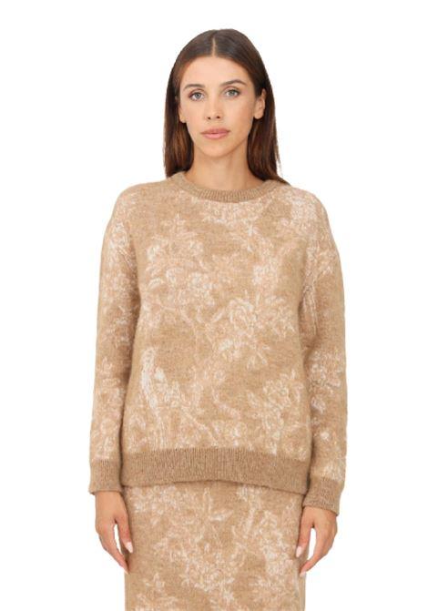 maglia girocollo aller in filato di lana e mahair MAX MARA Studio | 7 | 636613661713600005