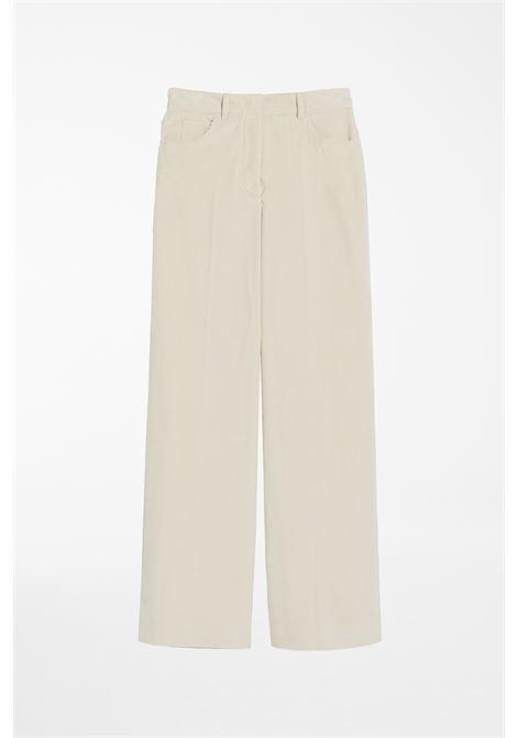 pantalone in velluto ghiglia MAX MARA WEEKEND | 9 | 51360813600004
