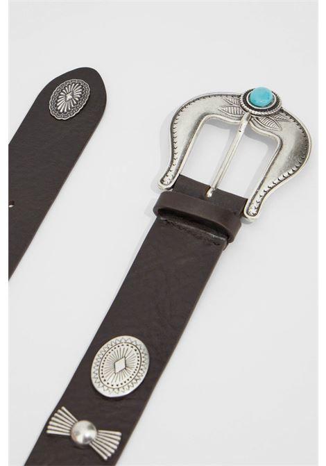 cintura in pelle con borchie cabala MAX MARA WEEKEND | 22 | 55060512600001