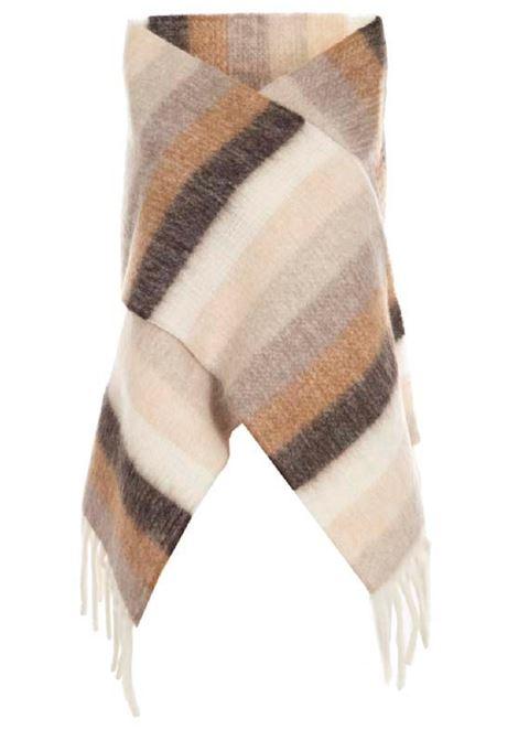 sciarpa in lana e alpaca neutro MAX MARA WEEKEND | 77 | 55460514600001