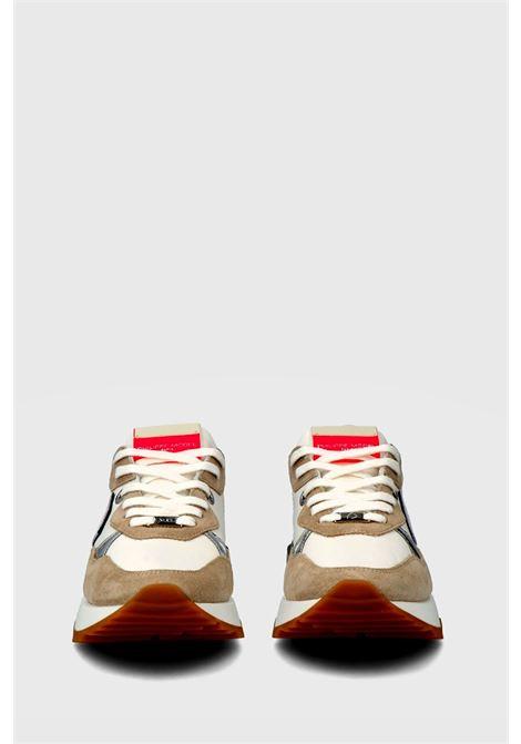sneakers la rue mondial animalier blanc sable Philippe Model | 10000002 | LRLDWA01