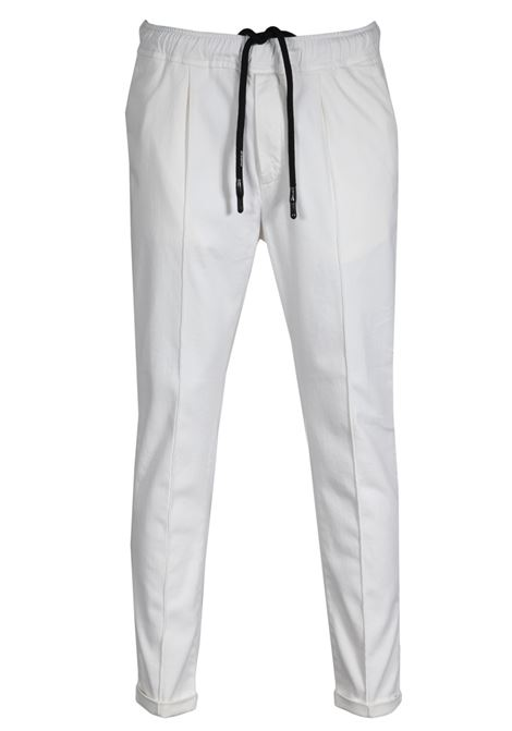 pantalone berry con coulisse bianco PMDS | 9 | 4179B620T62000