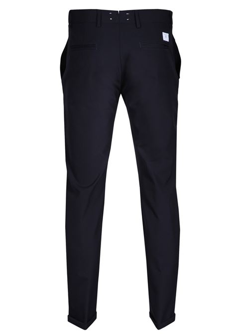 pantalone marks blu  tasche a filo tessuto tecnico PMDS | 9 | 420058206