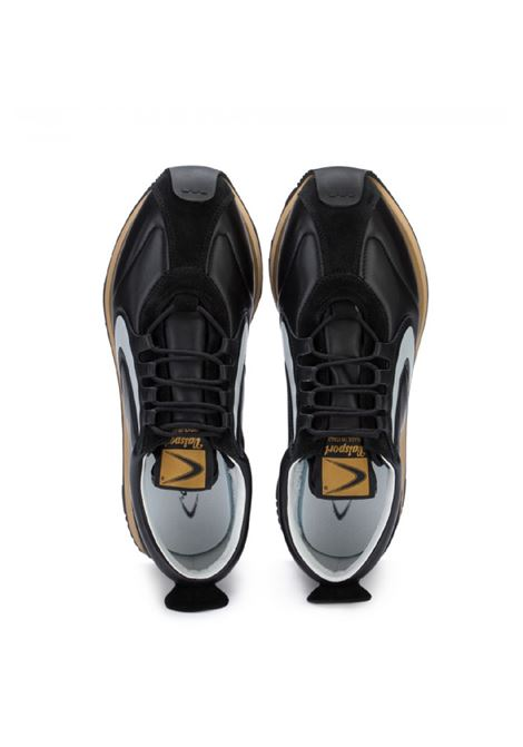 sneakers running uomo Special leather all black Valsport | 10000002 | VSP01M01